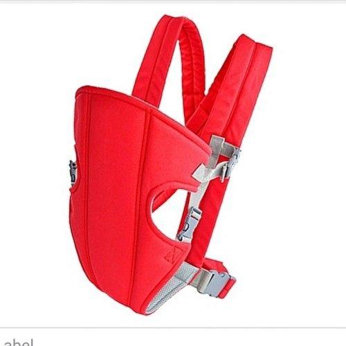 Porte bébé rouge