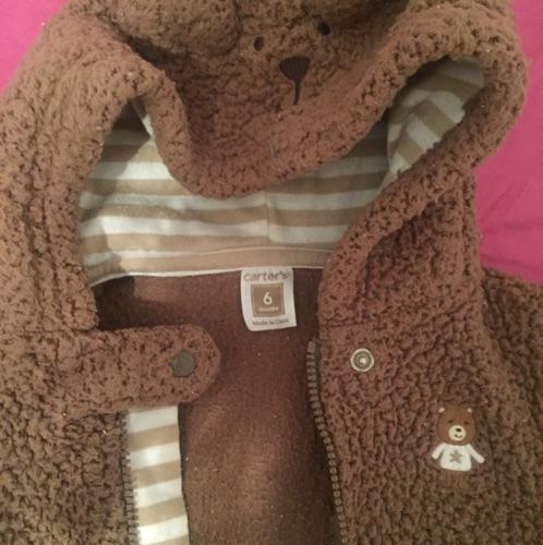 Manteau-grenouillère teddy bear bébé 6mois