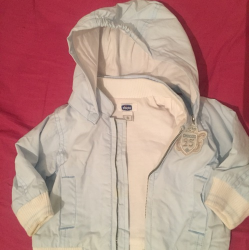 Impermeable chicco bebe 3mois