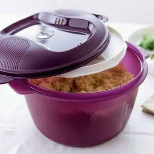 Porte ail et cuiseur à riz tupperware