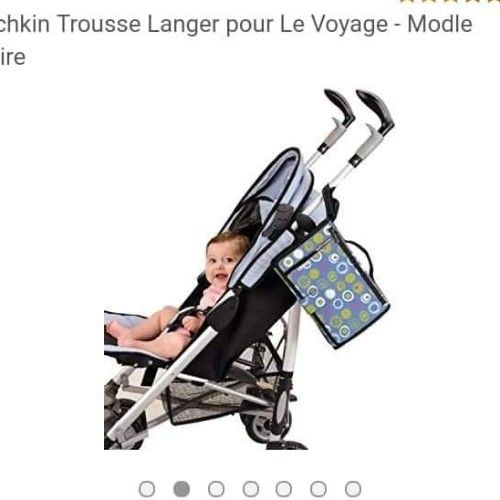 Trousse de change bébé, pour voyager....