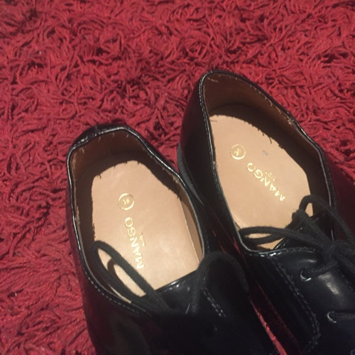 Chaussures noirs vernis