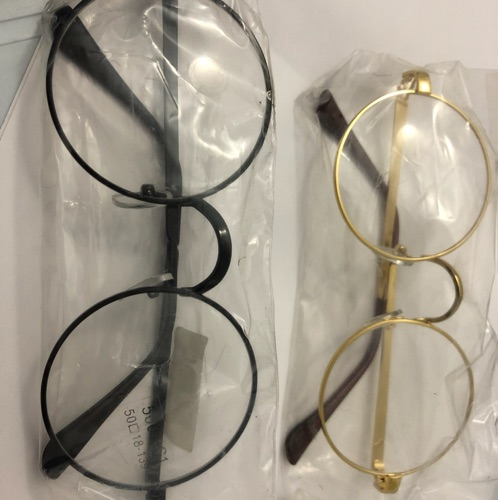 2 montures de lunette