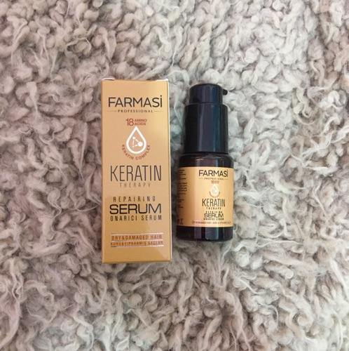 Serum et spray pour les cheveux