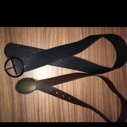Lot 2 ceinture