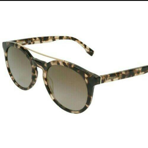 Lunettes Lacoste authentique léopard