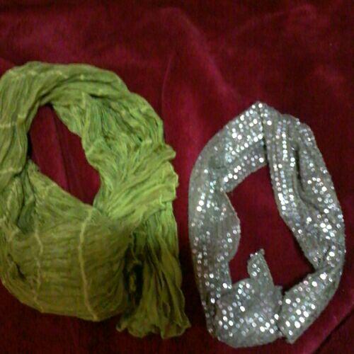 Deux écharpes importé de france