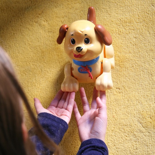 Chien à tirer Fisher price