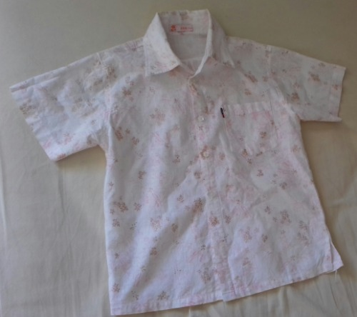 Chemise fleurie  enfant