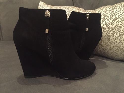 Boots bershka noir