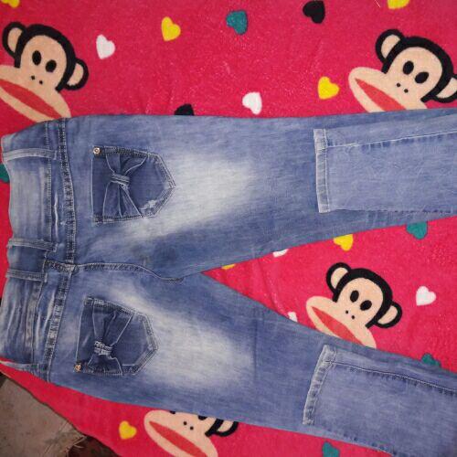 Pantalon jean déchiré