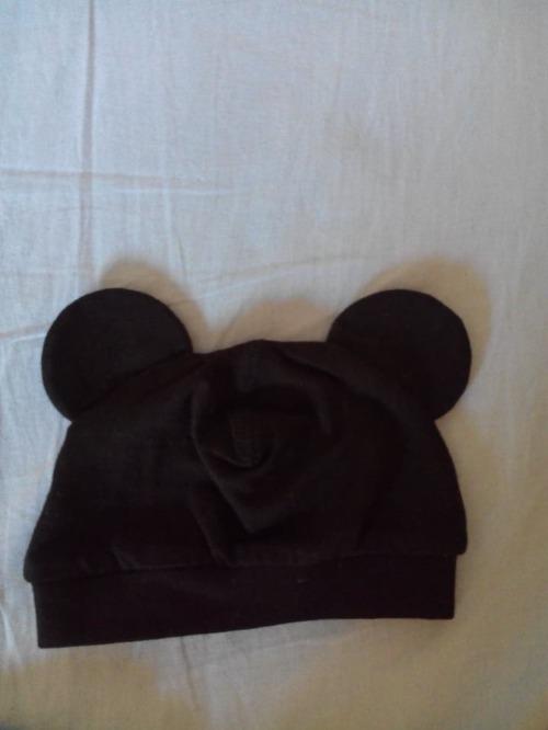 Lot de trois bonnets cotton pour bebe