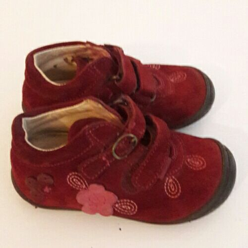 Chaussures rouge pour fille