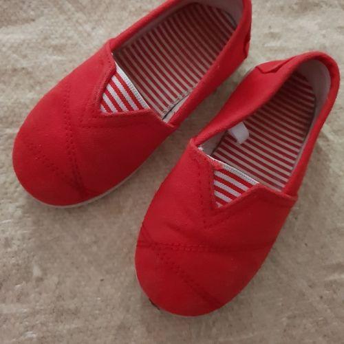 Chaussures rouge enfant pointure [NUMERO_SUPPRIME]