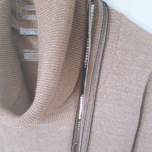 Lot de 2 pull+collier