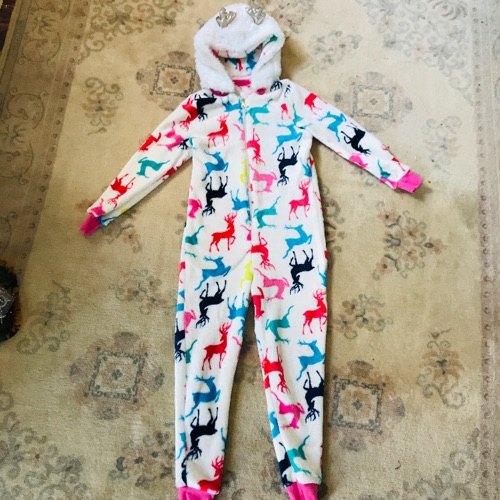 Pyjama combinaison en polaire neuf