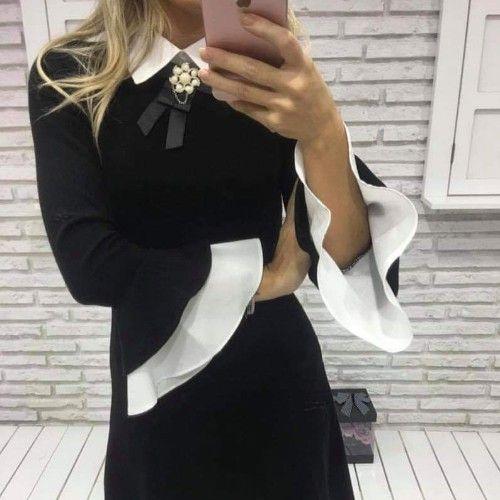 Robe col chemise