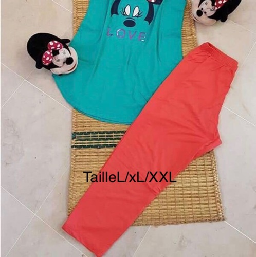 Pyjama de marque fashion family 100%cotton